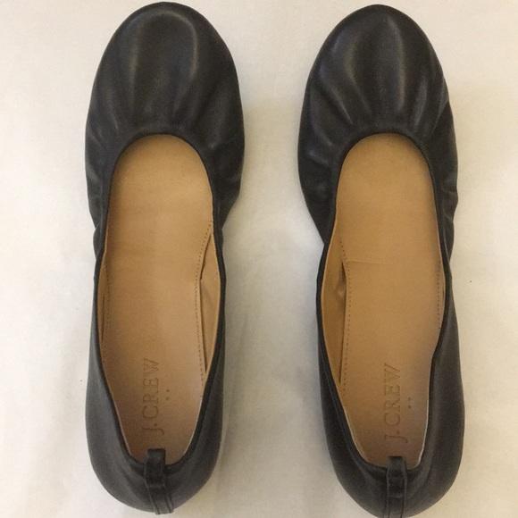 J. Crew Shoes - J crew Flats. Black.